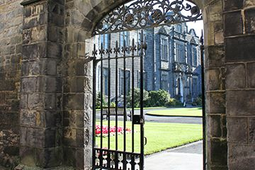 Gate to St Salvator's quadrangle