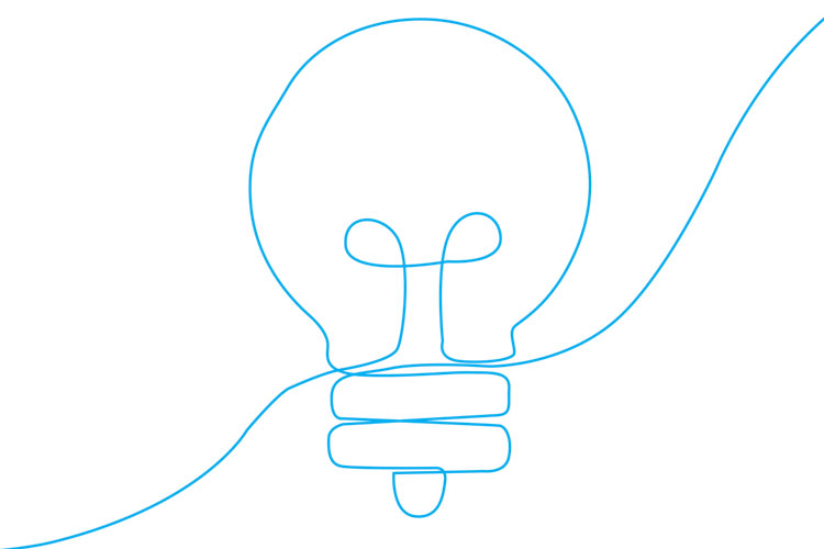 Graphic of a light bulb
