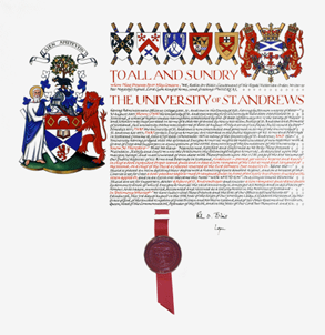 The current matriculation of arms