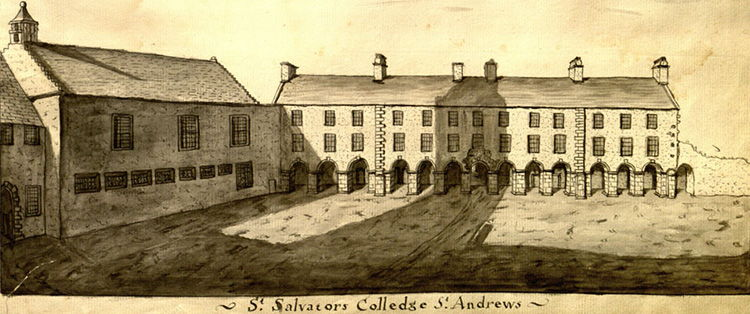 St Salvator's College illustration