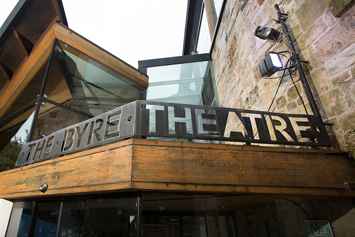 Byre theatre sign