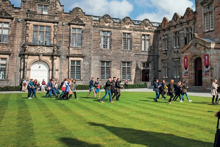 University of St Andrews - Scotland's first university, founded 1413
