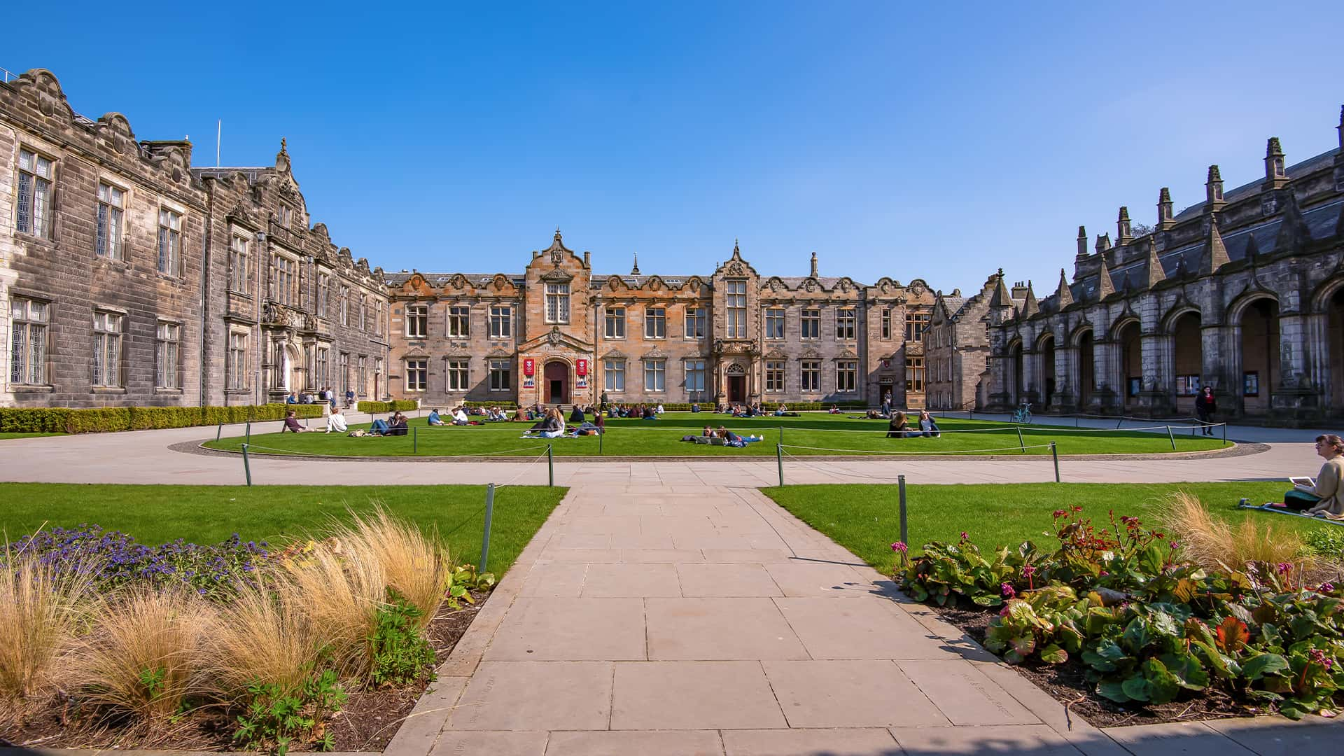 St Salvator's Quad
