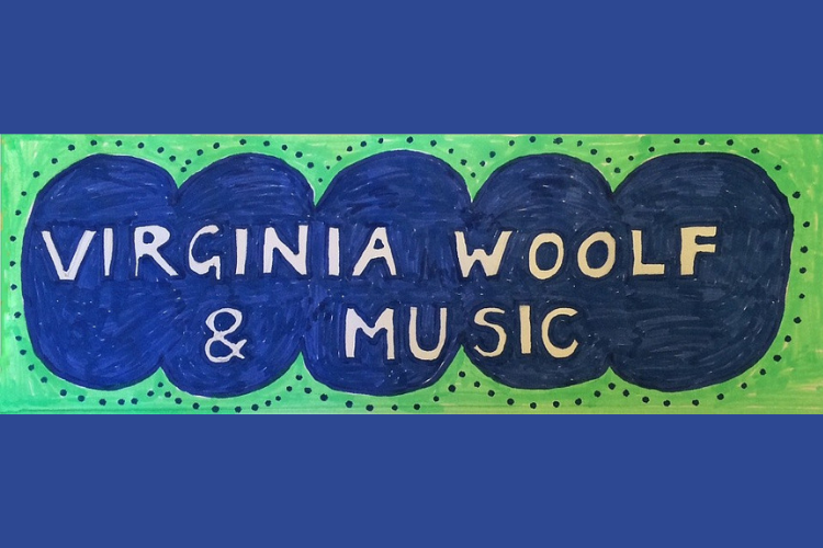 Virginia Woolf and Music banner logo