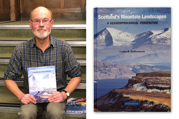 Colin Ballantyne with new book