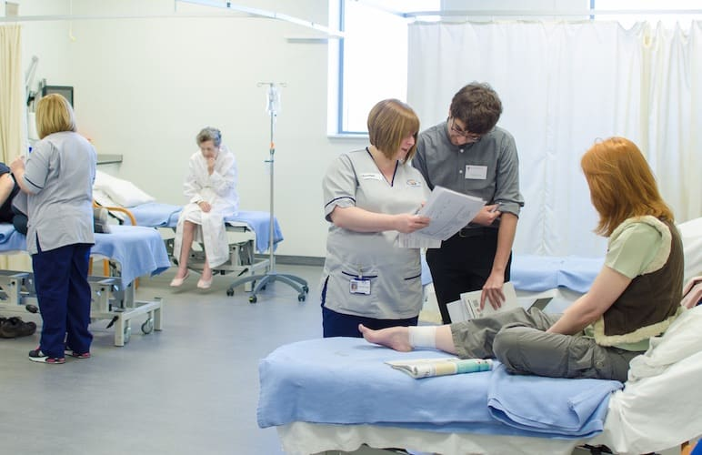 A ward simulation exercise