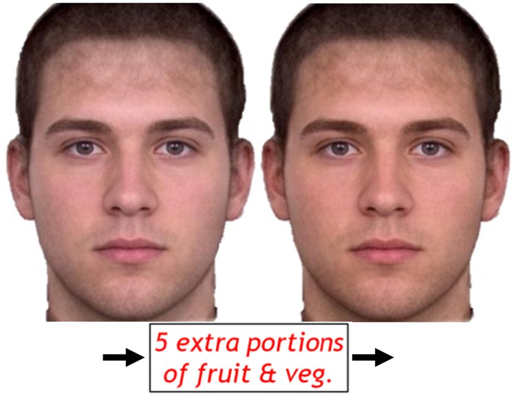 composite image of a male face created by the Perception Lab