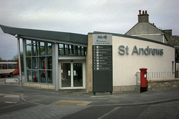 St Andrews bus station