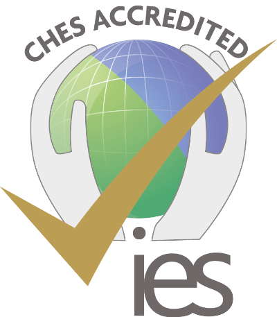 Accreditation logo from CHES (Committee of Heads of Environmental Sciences)
