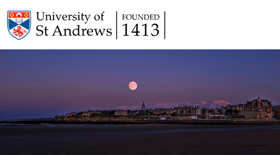 moon over st andrews