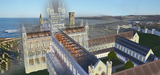 reconstruction of Cathedral