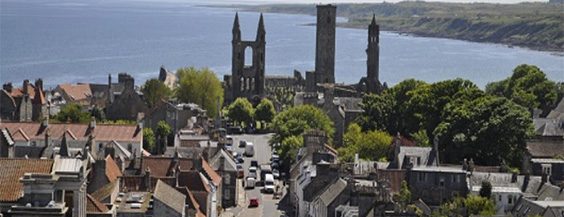 view of st andrews