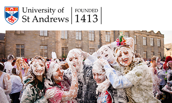 students in foam