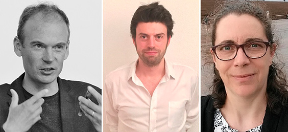 Professor James Harris, Dr Jonathan Fraser, Professor Julie Harris