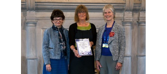 University of St Andrews Principal, Professor Sally Mapstone; Director of Student Services, Ailsa Ritchie; and Chair of the Division of Clinical Psychology at the British Psychological Society, Dr Alison Robertson
