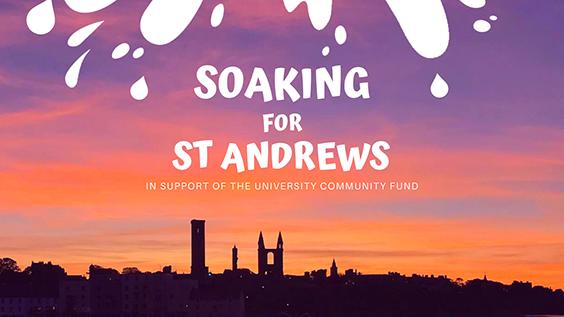 soaking for st andrews logo