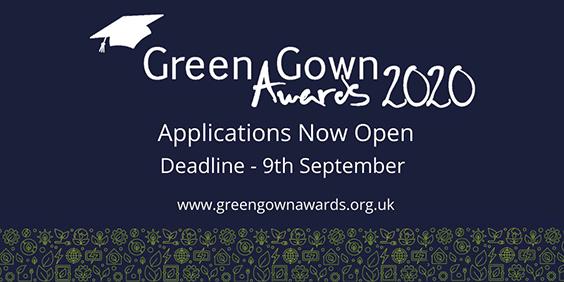 grren gown awards poster