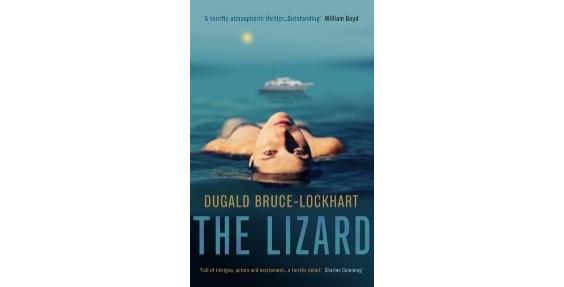 book cover the lizard