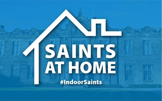 saints at home logo