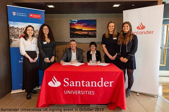 group with santander logo