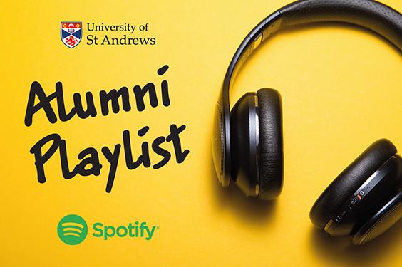 Alumni Playlist graphic