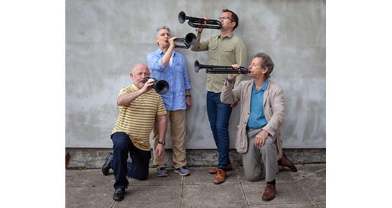 Professor John Miller, Sandy Coffin, Dr Bede Williams And Professor John Wallace