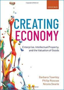 book cover2 Creating Economy