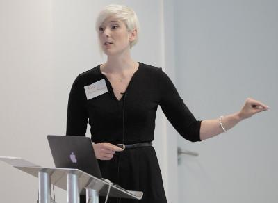Marisa Giannasi speaking at Up Your IP seminar 16 June 2014
