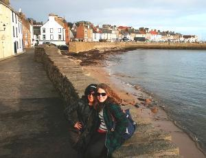 MLitt students in Anstruther