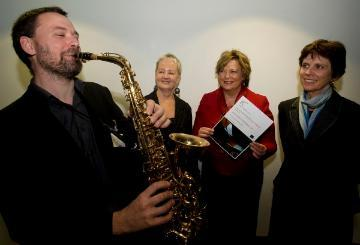 Red Note Ensemble director receives voucher