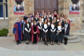 Photo of the first graduating cohort from the BA International Honours programme