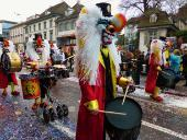 Photo of a parade in Switzerland