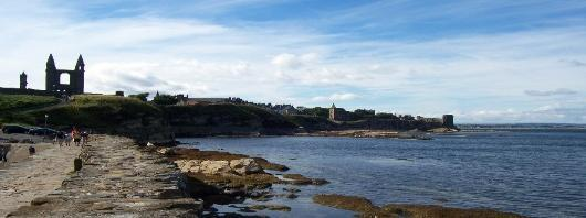 St Andrews from the Pier