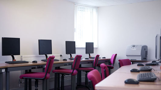 Andrew Melville Hall PC room