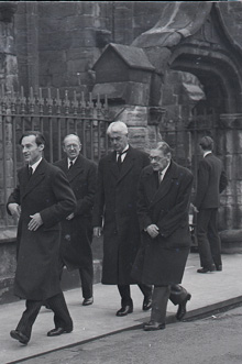 T. S. Eliot in St Andrews, image from University of St Andrews Special Collections