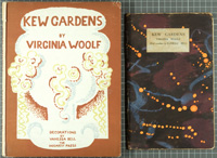 Third edition (left) and first edition (right) of Kew Gardens