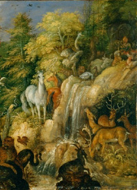 Orpheus and beasts