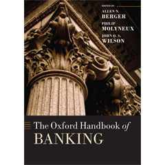 The Oxford Handbook of Banking cover