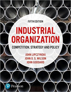 Industrial Organization: Competition, Strategy and Policy - 5th edition cover