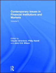 Contemporary Issues in Financial Institutions and Markets, Volume 2, cover