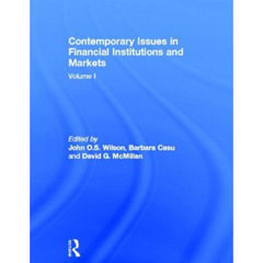 Contemporary Issues in Financial Institutions and Markets book cover