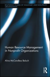 Human Resource Management in Nonprofit Organizations cover