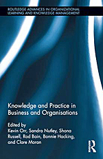 Knowledge and Practice in Business and Organisations - book cover