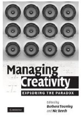 Managing Creativity book cover