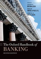 The Oxford Handbook of Banking, Second Edition cover