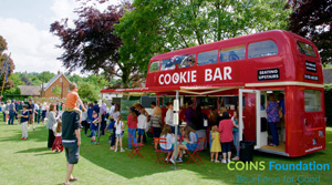 The Cookie Bar bus (COINS Foundation)