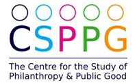 Centre for the Study of Philanthropy & Public Good (CSPPG) logo