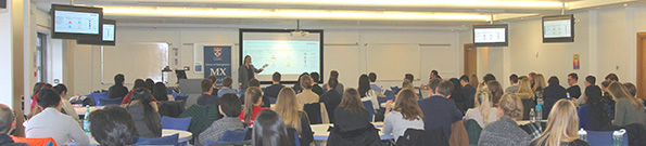 School of Management taught postgraduates in Masters Extra (MX) session