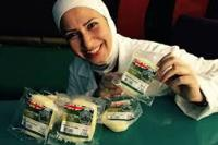 Razan Alsous, founder of Yorkshire Dama Cheese