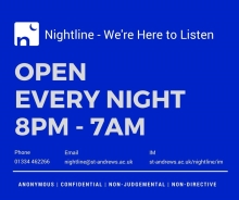 Contact information for Nightline